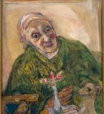 Mother in green dressing gown (Schlenker 250)