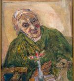 Mother in green dressing gown (Schlenker 250)