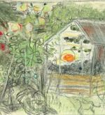 Study for The Greenhouse, 1979 (Schlenker 216)