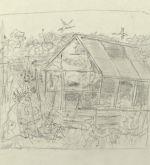 Study for The Greenhouse, 1979 (Schlenker 217)