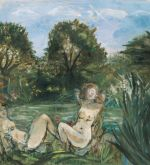 Nudes at Hampstead Pond, 1988 (Schlenker 291)