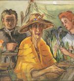 In the Garden Familienbild 1948 (Schlenker 81)