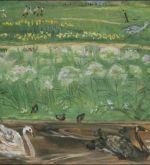 Park with swans (Schlenker 335)