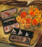 Still-Life with paintboxes (Schlenker 112)