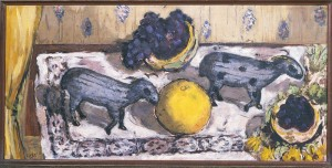 Still-life with sheep