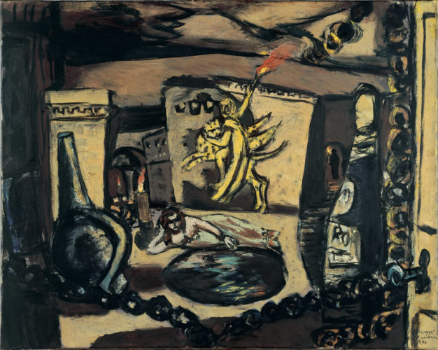 Max Beckmann's painting <em>Apollo</em> (1942) acquired by Museum Boijmans van Beuningen, Rotterdam 1