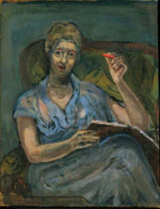 Self-portrait in Blue, 1964 (Schlenker 195)