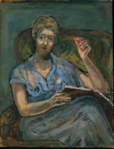 Self-portrait in Blue, 1964 (Schlenker 195)