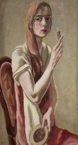 Self-portrait with Comb, 1926 (Schlenker 13)