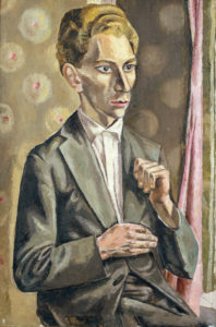 Portrait of a Russian Student, 1927 (Schlenker 16)
