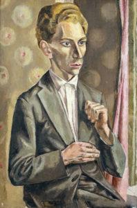 Portrait of a Russian Student, 1927 (Schlenker 16)